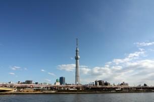 タイトルクリックで本文へ  2012.3.13 晴れた日の東京スカイツリー